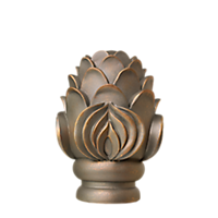 "2"" Royal Crest Finial /AP"