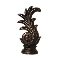 "2"" Victoria Finial /IC"