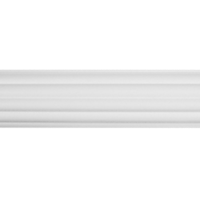 "1 3/8"" Fluted Pole 4' /WH"