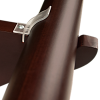 Bracket Snap-In Clips for Finestra Wood Hardware