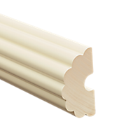 """1 3/8"""" Fluted Fascia 12 Ft  /Aw"""