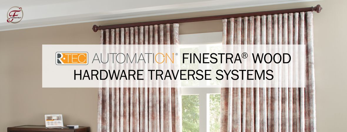 R-TEC Automation Finestra Wood Hardware Traverse Systems