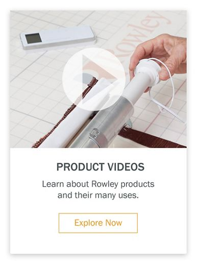 Product Videos Learn about Rowley products and their many uses.