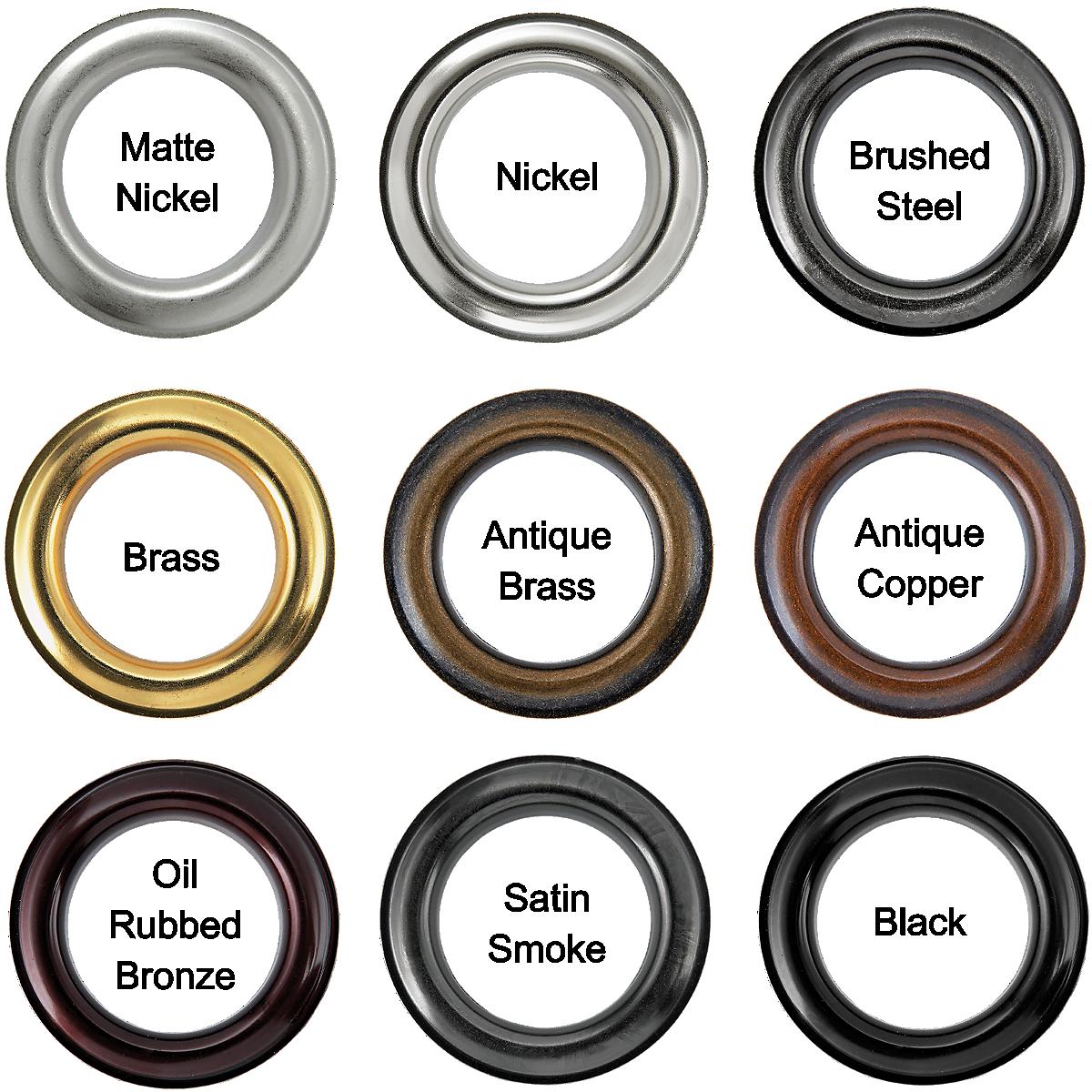 Brass Round Grommets #12