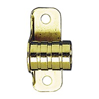 Close Fit Outside 3/8'' ID Bracket- Brass Plated