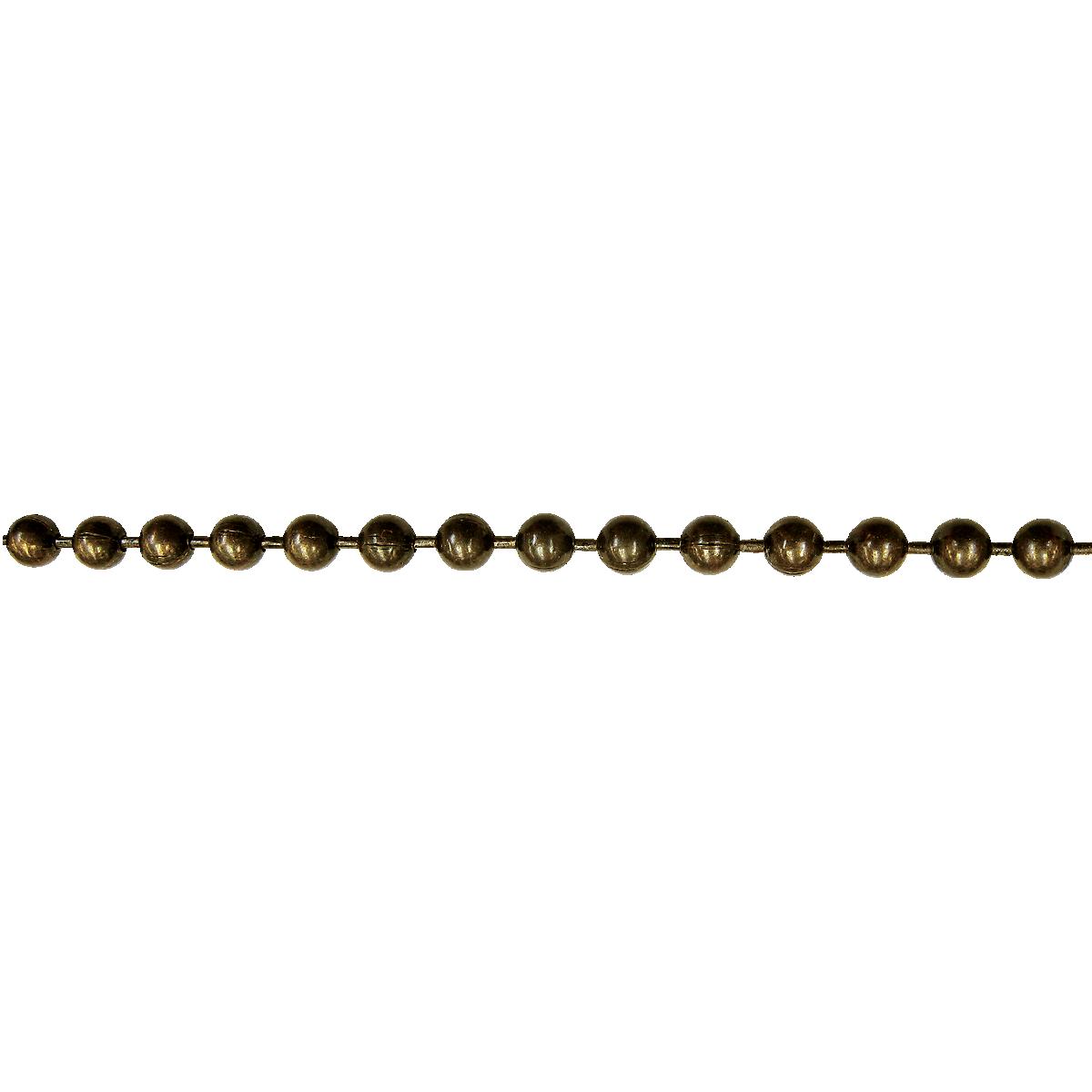 3' Drop, Antique Brass