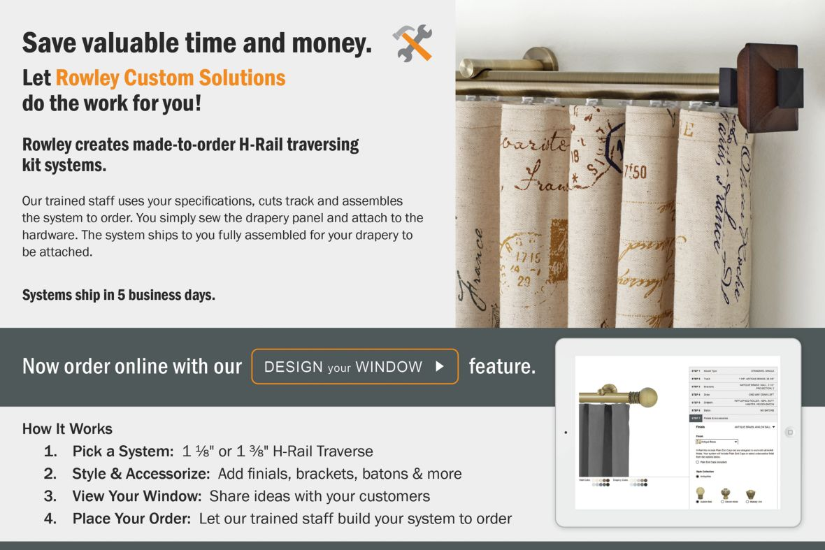 Rowley Company Custom Track Solutions