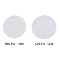 Hook & Loop, Sticky Back Discs, 5/8''