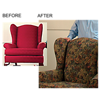 How To Re-Upholster a Wingback Chair, DVD