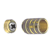 Inside Mount 3/8'' ID Socket - Brass Plated