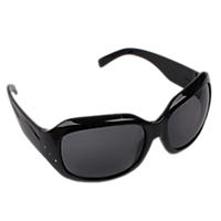 Ladies Safety Glasses - Indoor/Outdoor Lenses Black