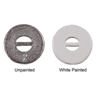 Lead Weights, Round, Uncovered