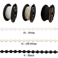 Plastic Bead Chain, #10