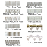R-TEX Translucent Header Tapes