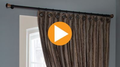 Fabricating a Window Treatment with Creative Grommet Details