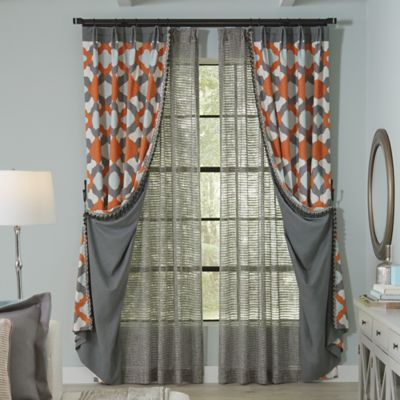 Pleated-to-Pattern Panels with Beaded Trim