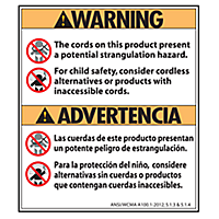 Safety Warning Label - Retail Forms & Packaging
