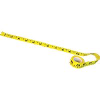 Sticky-Back Paper Tape Measure