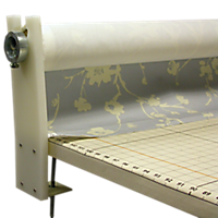 Table Clamp Fabric Dispenser