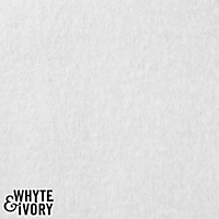 Whyte & Ivory, Kensington Heavy Flannel Interlining, By the Yard