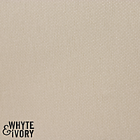 Whyte & Ivory Manchester Sateen Wide Lining, Pale Ivory - Full Roll