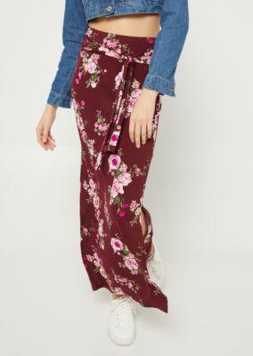 purple-tie-dye-tie-front-maxi-skirt by rue21