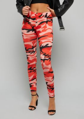 red-camo-print-soft-knit-leggings by rue21
