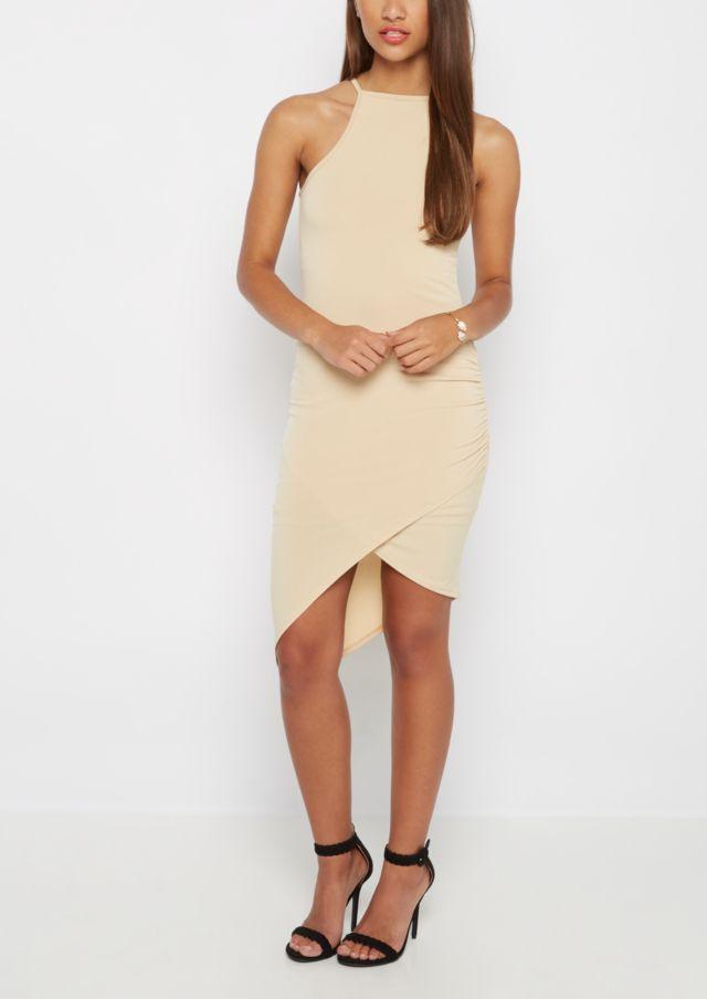 yeezy season 4 budget style nude dress