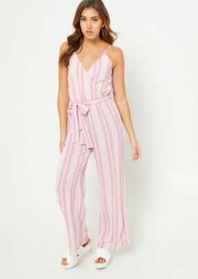 0d66932eff3 pink-striped-wide-leg-cami-jumpsuit by rue21