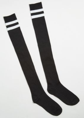 423f97711f3 Back Varsity Striped Knee High Socks