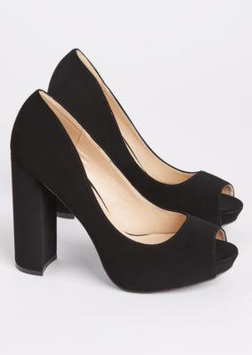 black-peep-toe-block-heels by rue21