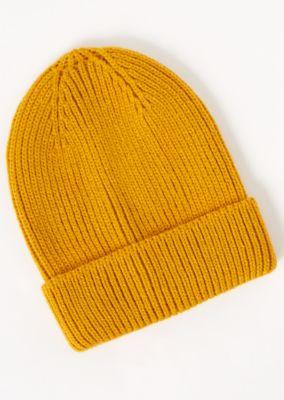 Mustard Knit Beanie by Rue21
