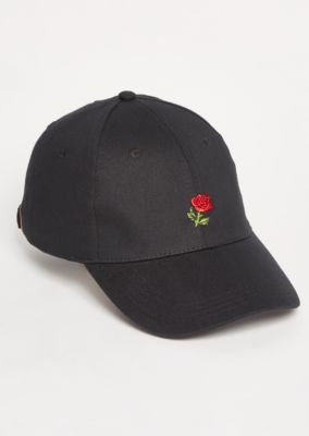 e75ffecf96531 Black Rose Twill Dad Hat