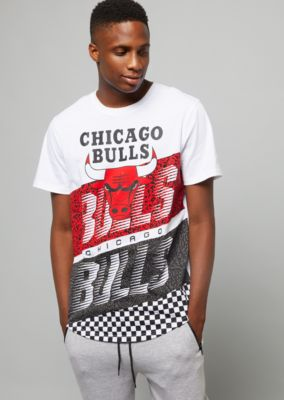 45e6f7c7941310 nba-chicago-bulls-white-checkered-colorblock-tee by rue21