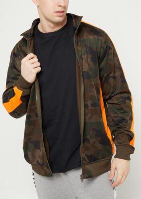 camo-print-tricot-varsity-striped-track-jacket by rue21