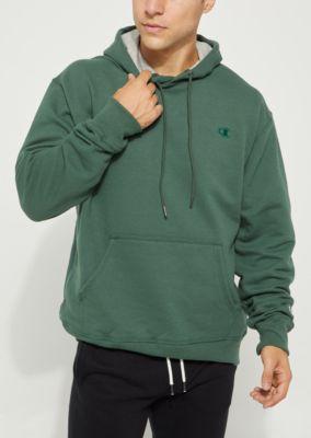 4e2123764159 Dark Green Champion Logo Pullover Hoodie