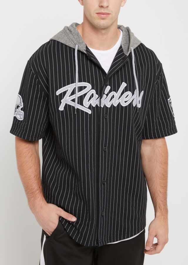 finest selection 355e5 04df3 denmark oakland raiders hooded baseball jersey 0cc13 8f2d1