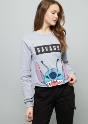 a044b8feac1 Gray Stitch Savage Graphic Tee | Long Sleeve Graphic Tees | rue21