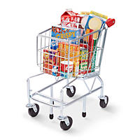 Melissa & Doug Grocery Shopping Cart