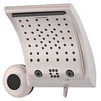 Oxygenics Contour + Speaker 6-Setting Brushed Nickel Shower System