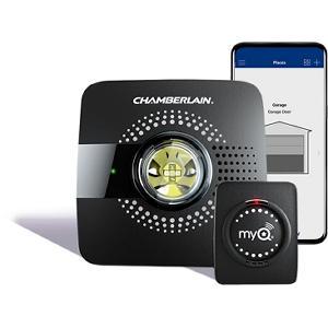 Myq Chamberlain Wireless Amp Wi Fi Enabled Smart Garage Door