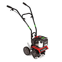 Earthquake 29769 Mini Cultivator Tiller with 43cc 2-Cycle Viper Engine - Includes Dethatcher