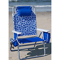 Pastel Striped Beach Chair