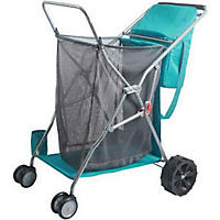 Multipurpose Beach Cart, Teal