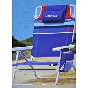 Nautica Beach Chair Blue Samsclub Com Auctions