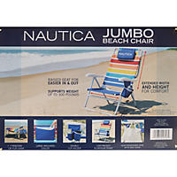 BEACH CHAIR RAINBOW NAUTICA