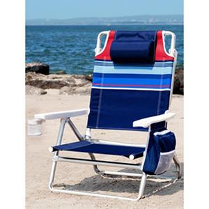 Nautica Beach Chair Stripe Samsclub Com Auctions