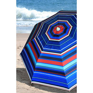 Nautica 7' Beach Umbrella - Stripe