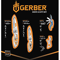 Gerber Knife and Tool Set