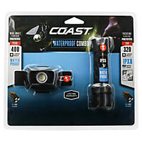 Coast Flashlight and Headlamp Waterproof Light